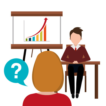 briefing: Business consulting with icons design, vector graphic