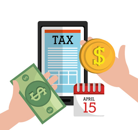 account form: Taxes icon design, vector illustration eps10 graphic Illustration