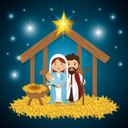 メリー クリスマスの漫画、ベクトル イラストレーション グラフィック eps10  イラスト・ベクター素材
