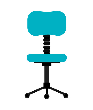 career development: Office interior workplace design, vector illustration graphic eps10. Illustration
