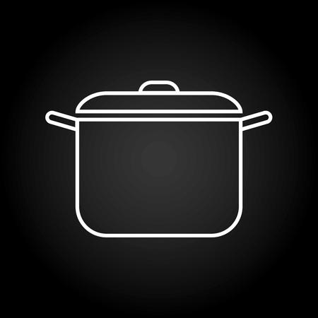 utensils: Kitchen utensils and equipment icon design, vector illustration graphic. Illustration