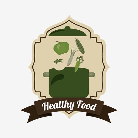 vegetarian food menu design, vector illustration eps10 graphic Illustration