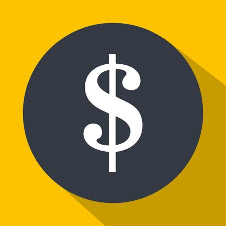 cash money: Money cash symbol graphic design, vector illustration