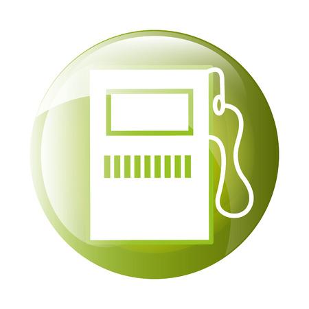 dispenser: Fuel dispenser icon symbol design