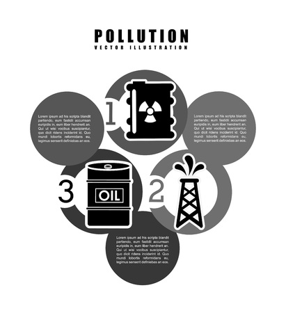 icone: pollution infographics design, vector illustration eps10 graphic