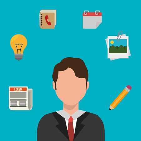 Money and business profits design, vector illustration graphic