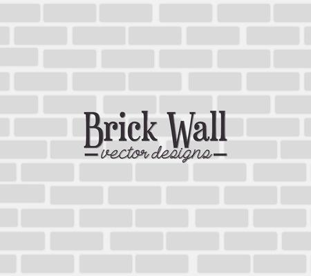 pattern grunge: Brick wall graphic design, vector illustration theme Illustration