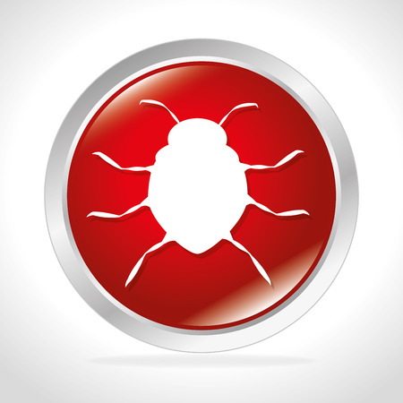 lock block: Surveillance security system graphic design, vector illustration eps10