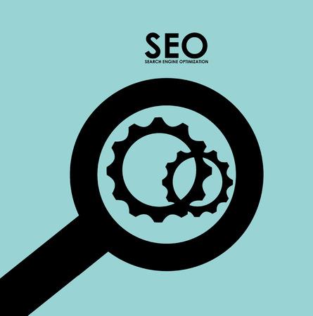 searching engine optimization design, vector illustration eps10 graphic Illustration