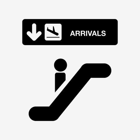 electrics: airport terminal design, vector illustration eps10 graphic