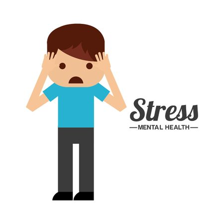 mental health design, vector illustration eps10 graphic