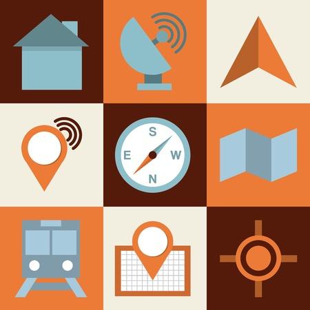 antena: isolated retro icon design, vector illustration eps10 graphic Illustration