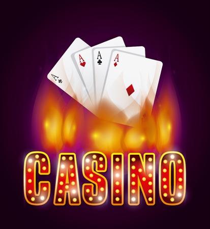 az: casino gambling  concept design, vector illustration eps10 graphic