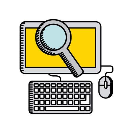 online business: online business design, vector illustration eps10 graphic Illustration