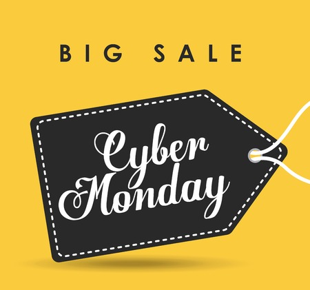 cyber monday deals design, vector illustration eps10 graphic Illustration