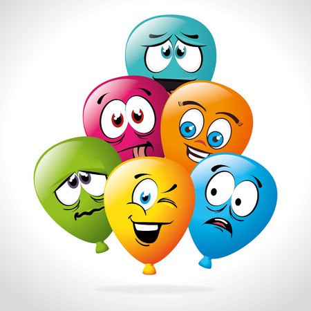 teamwork cartoon: Cartoon emoticon graphic design, vector illustration eps10