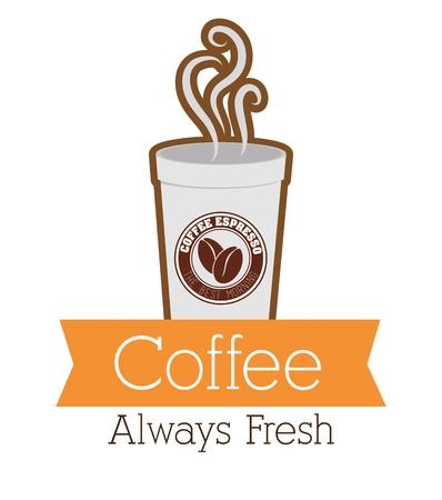 espresso: Coffee shop and drink graphic design, vector illustration eps10