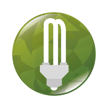 environmental contamination: Green energy and ecology theme design, vector illustration graphic