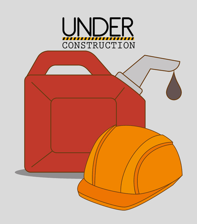 carpentry cartoon: Construction and tools graphic design icons, vector illustration eps10 Illustration