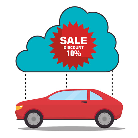 upkeep: Buy or rent a car business, vector illustration graphic design.