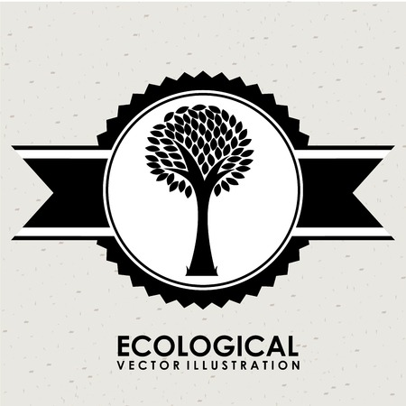 ecological: ecological mind design  Illustration