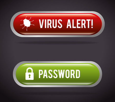 lock block: Surveillance security system graphic design, vector illustration
