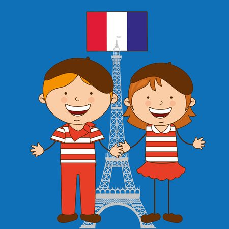 Les enfants de la conception du monde, illustration graphique eps10 Banque d'images - 47886249