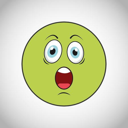 smiley face cartoon: smiley faces design, vector illustration eps10 graphic