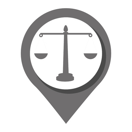 law and order: Law and order Round icon graphic design, vector illutration eps10