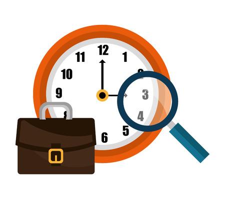 management concept: Project management and business theme design, vector illustration Illustration