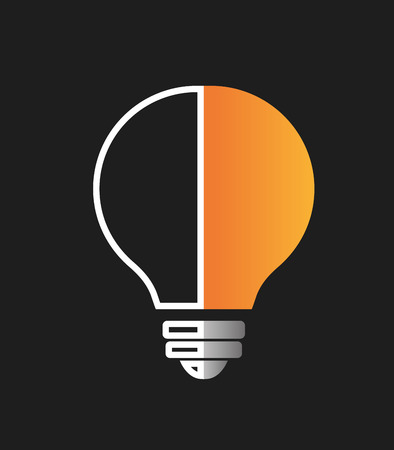 edison: Big ideas graphic design with icons, vector illustration