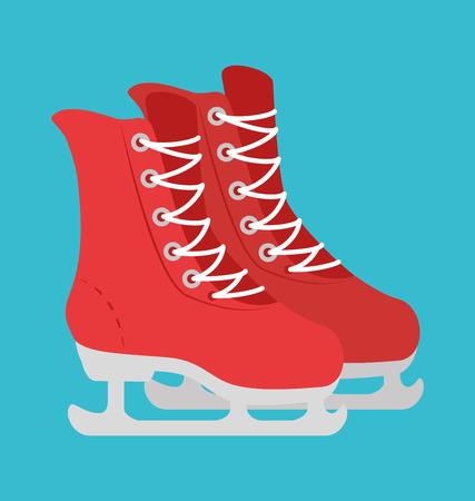 winter sport: Winter sport and fashion wear graphic design, vector illustration eps10 Illustration