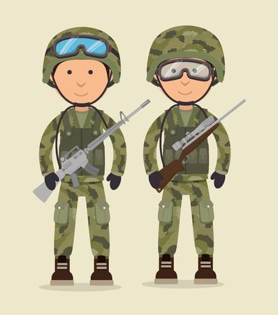 Pistole e armi icona del design grafico, illustrazione vettoriale eps10