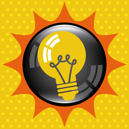 big idea: Big idea concept with light bulb design, vector illustration 10 eps graphic Illustration