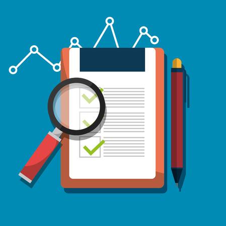Analitycs 検索や SEO グラフィック アイコン、ベクトル イラスト デザイン  イラスト・ベクター素材