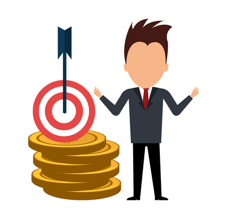 global savings: Bank,global economy and money savings graphic, vector illustration design