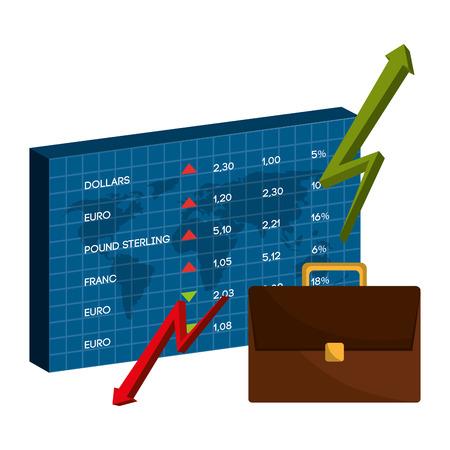 abundance: Bank,global economy and money savings graphic, vector illustration design