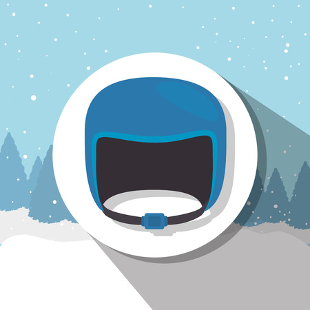 winter sport: Winter sport and wear accesories design theme, vector illustration graphic