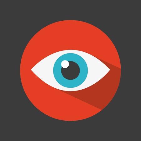 eye icon: eye icon design, vector illustration eps10 graphic