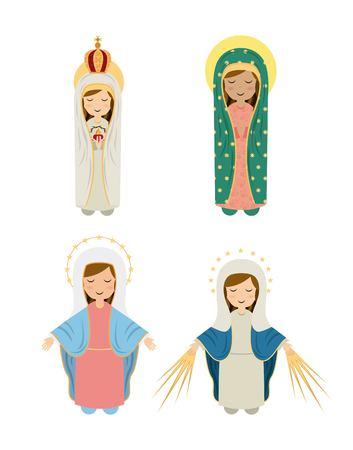 eucharistie: Conception de la religion catholique, illustration graphique eps10