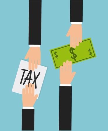 liability: tax liability design, vector illustration eps10 graphic