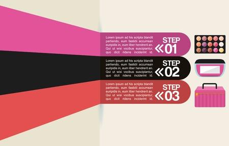 makeover female design, vector illustration eps10 graphic