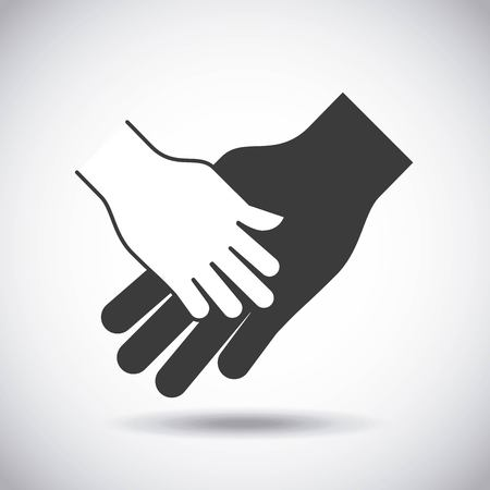gestures: hand gestures design, vector illustration eps10 graphic