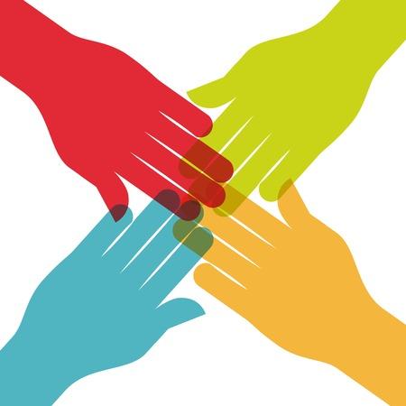 collaborative: collaborative people design, vector illustration eps10 graphic