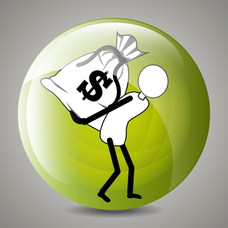 profits: Business profits growth up graphic design, vector illustration