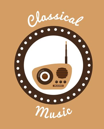 antena: music lifestyle design, vector illustration  graphic