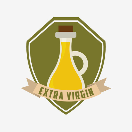 extra virgin olive oil: olive oil design, vector illustration eps10 graphic