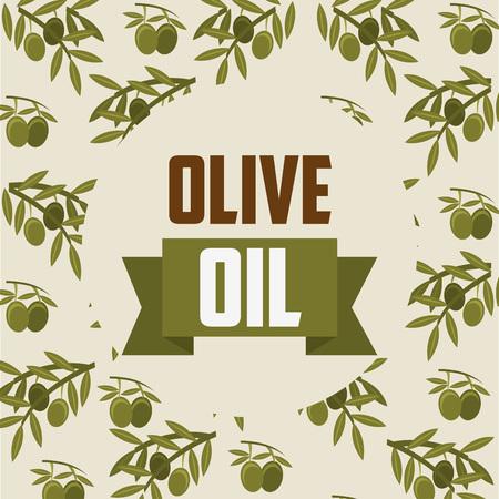 oil of olive: dise�o aceite de oliva, ejemplo gr�fico del vector eps10 Vectores
