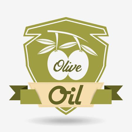 oil of olive: dise�o aceite de oliva, ejemplo gr�fico del vector eps10 Foto de archivo