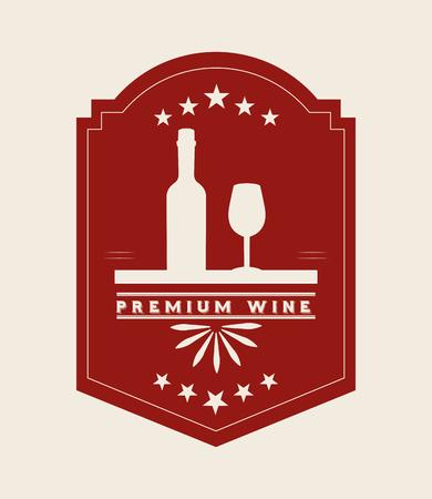 wine bar: best wine design, vector illustration eps10 graphic
